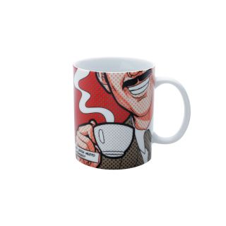Caneca de Porcelana Prof Girafales Colorida 300ML Turma do Chaves