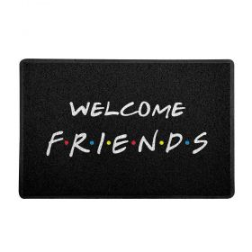 Capacho Geek e Nerd 60x40cm Friends Black - Beek