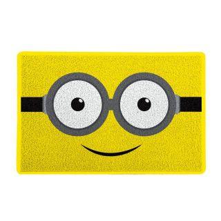 Capacho Geek e Nerd 60x40cm Óculos Amarelo