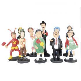 Coleção Completa Da Turma Do Chaves - Com 10 Personagens