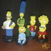 Coleção Família Completa Simpsons kit c/ 5 Personagens