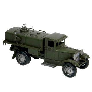 Colecionável Caminhão de Metal Militar Exercito Retrô