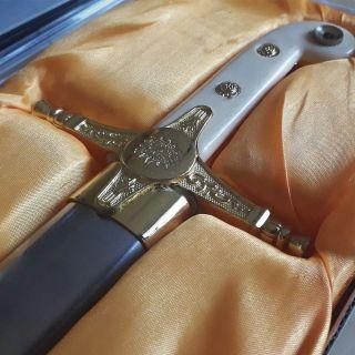 Espada Decorativa Dourada Reis Medievais 60cm S/Corte