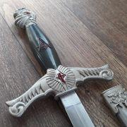 Espada Templária Medieval Masonic Sword 53cm