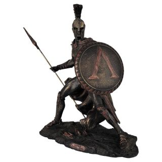 Estatuas Decorativa Leônidas Guerreiro 300 Esparta