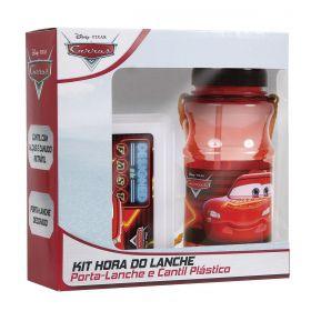 Kit Cantil + Porta-Lanche Carros Oficial Disney