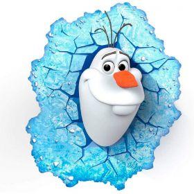 Luminária 3D Light FX Olaf Frozen Original Disney