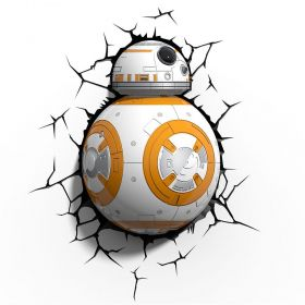 Luminária 3D Light FX Star Wars BB-8 Oficial