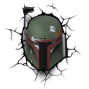 Luminária 3D Light FX Star Wars Boba Fett