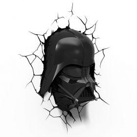 Luminária 3D Light FX Star Wars Darth Vader Helmet
