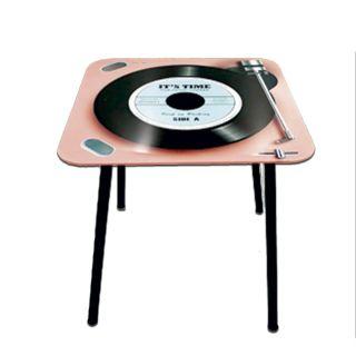 Mesa de Apoio Quadrada Vintage It´s Time 40x40x40cm