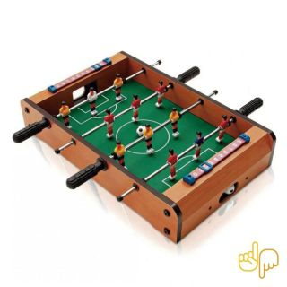 Mini Jogo Mesa De Pebolim Totó Com 12 Jogadores + 2 bolas