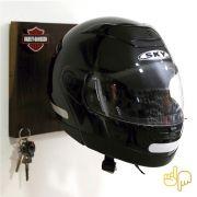 Porta-Capacete Harley Davidson  c/ Porta-Chaves