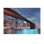 Quadro Iluminado - Ponte Brooklyn New York