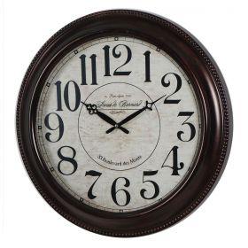 Relógio de parede 33.Boulevard Des Monte Paris 52cm