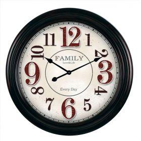 Relógio de parede Family - Love & Life 65cm