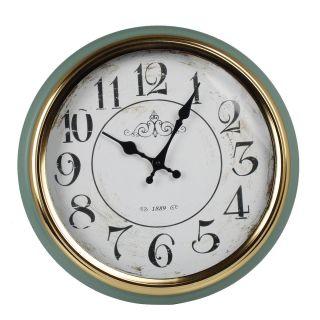 Relogio de Parede Green Tiffany 1889 Premium Ø 37cm