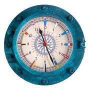 Relógio de Parede Linha Náutica Mod. Escotilha CIS