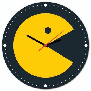 Relógio de Parede Pac-Man Come Come