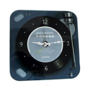 Relógio de Parede Retrô Mod Vinil Space Raiders 20x20cm