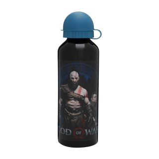 Squeeze Aluminio Kratos God of War Oficial 500ml Black