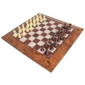 Tabuleiro de Xadrez Chess Magnético Peças Com Imã 39x39cm