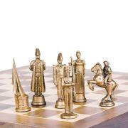 Tabuleiro de Xadrez Luxo - Napoleão Bonaparte 32 peças