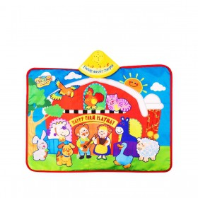 Tapete Musical Interativo Happy Farm BabyGo