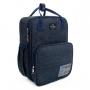 Baby Bag Mini Mochila Maternidade C/ Trocador Disney Mickey Azul 1448