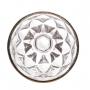 Conj. C/ 6 Taças P/ Água C/ Fio De Ouro Diamond 325ml Lyor