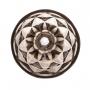 Conj. C/ 6 Taças P/ Água Diamond Cinza Metalizado 325ml Lyor