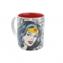 Conjunto Chá Bar Wonder Woman - Avental, Caneca e Kit Copos de Shot