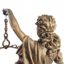 Estátua Deusa Têmis 63 cm Dama Da Justiça Símbolo Do Direito