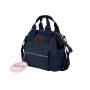 Mini Bolsa Mommy Bag MM3264 Azul Marinho Original Clio
