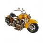 Moto De Metal Decorativa Indian Amarela 1808 Verito