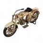 Moto De Metal Decorativa Silent Gray Fellow Harley Davidson