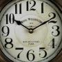 Relógio De Mesa Em Metal Hotel Westminster 1870