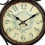 Relógio de Parede Estação De Trem Dupla Face Every Day