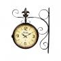 Relógio De Parede Vintage Dupla Face New York 1931