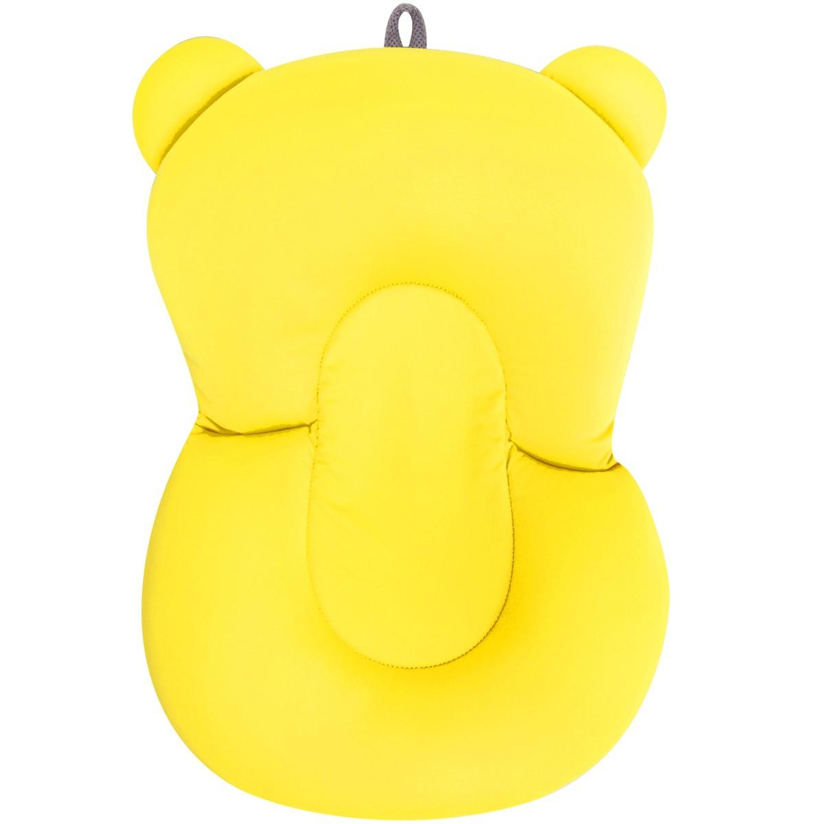Almofada De Banho Baby Amarela Buba