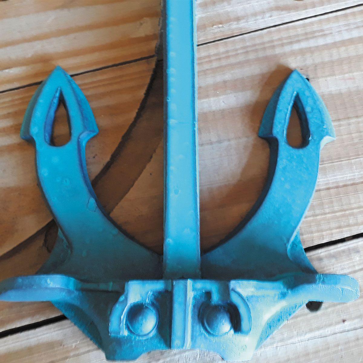 Ancora de Parede Marinha Blue mod Anchor Hall Náutica