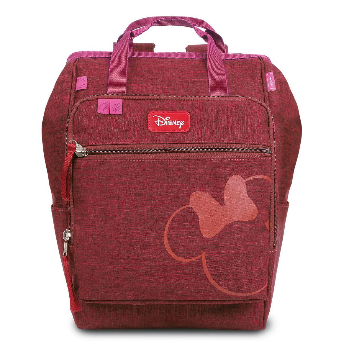Baby Bag G Mochila Térmica Maternidade Minnie c/ Trocador Disney