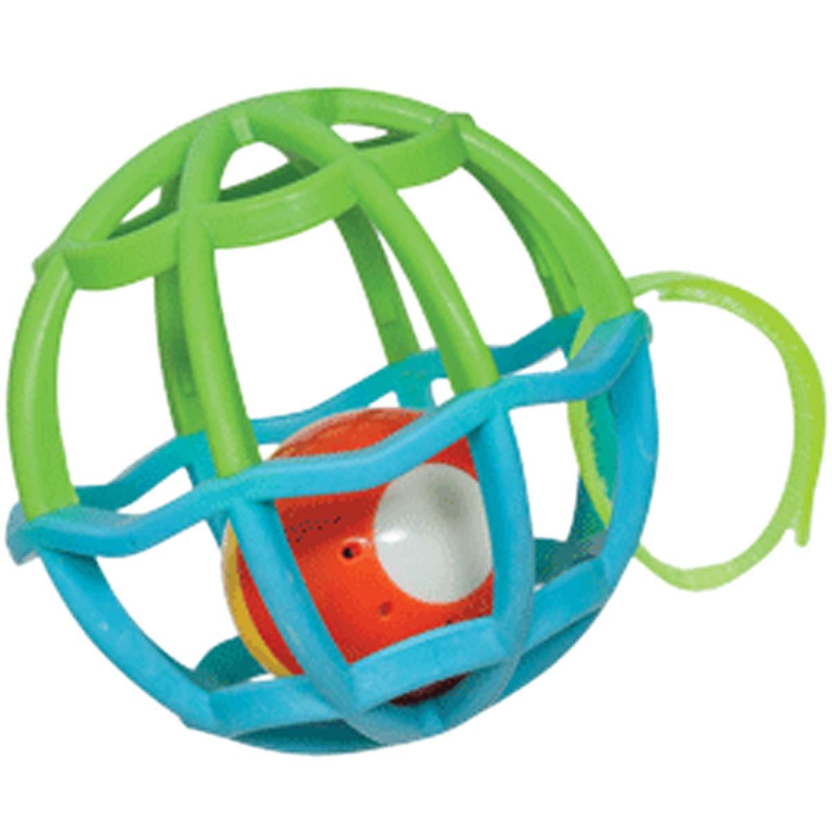 Baby Ball Com Luz e Som Azul e Verde Buba