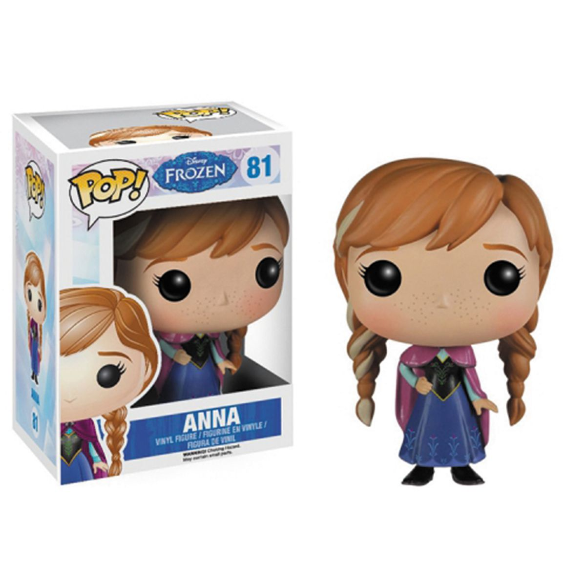 Boneco Funko Pop Disney Frozen Anna