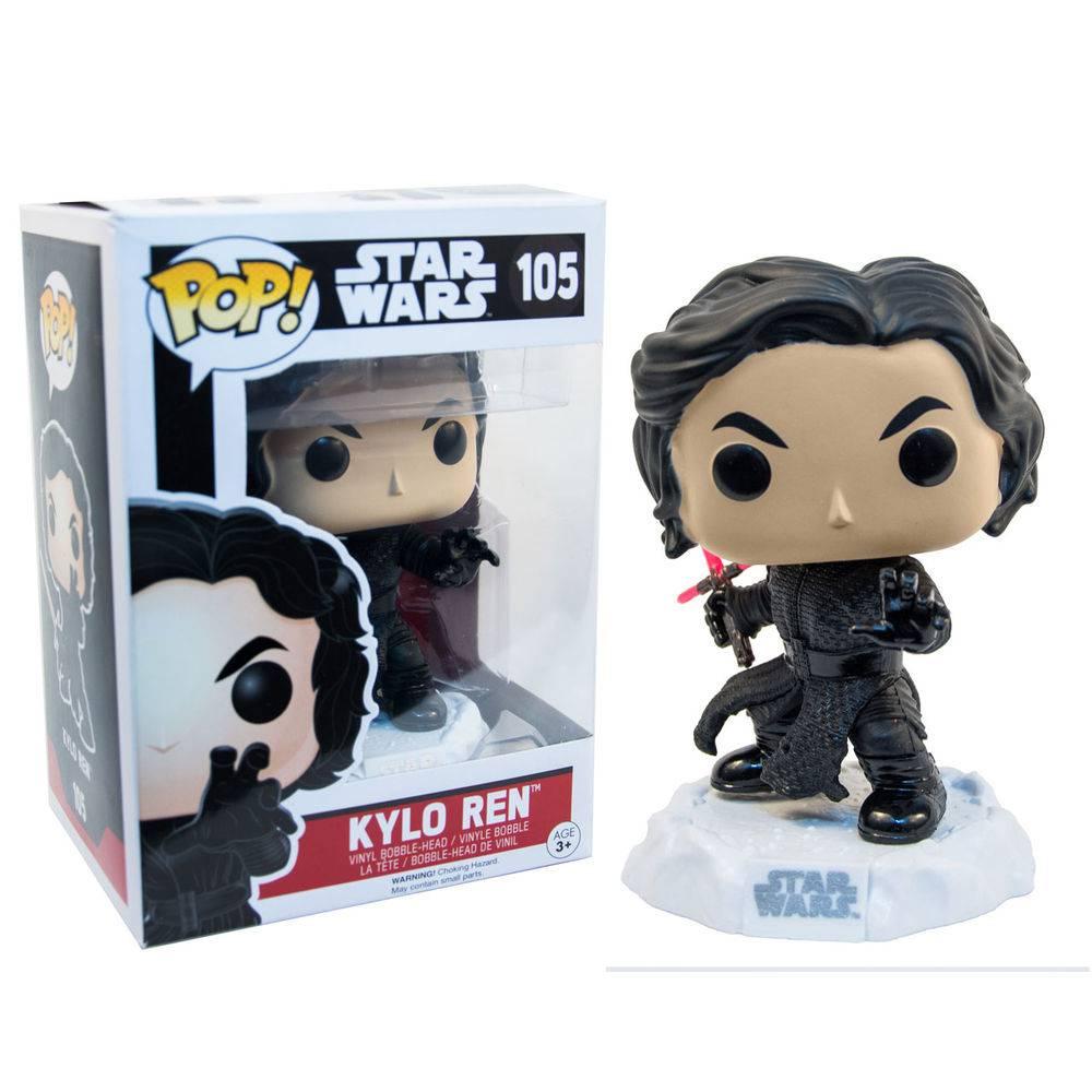 Boneco Funko Pop Kylo Ren sem mascara - Star Wars