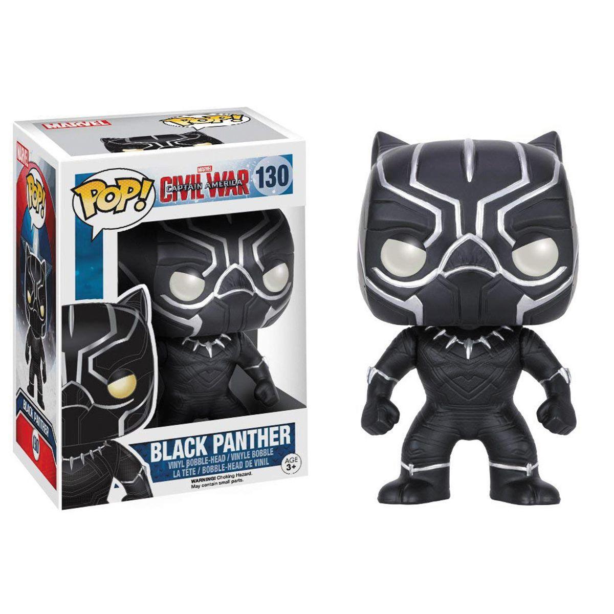 Boneco Funko Pop Marvel Black Panther