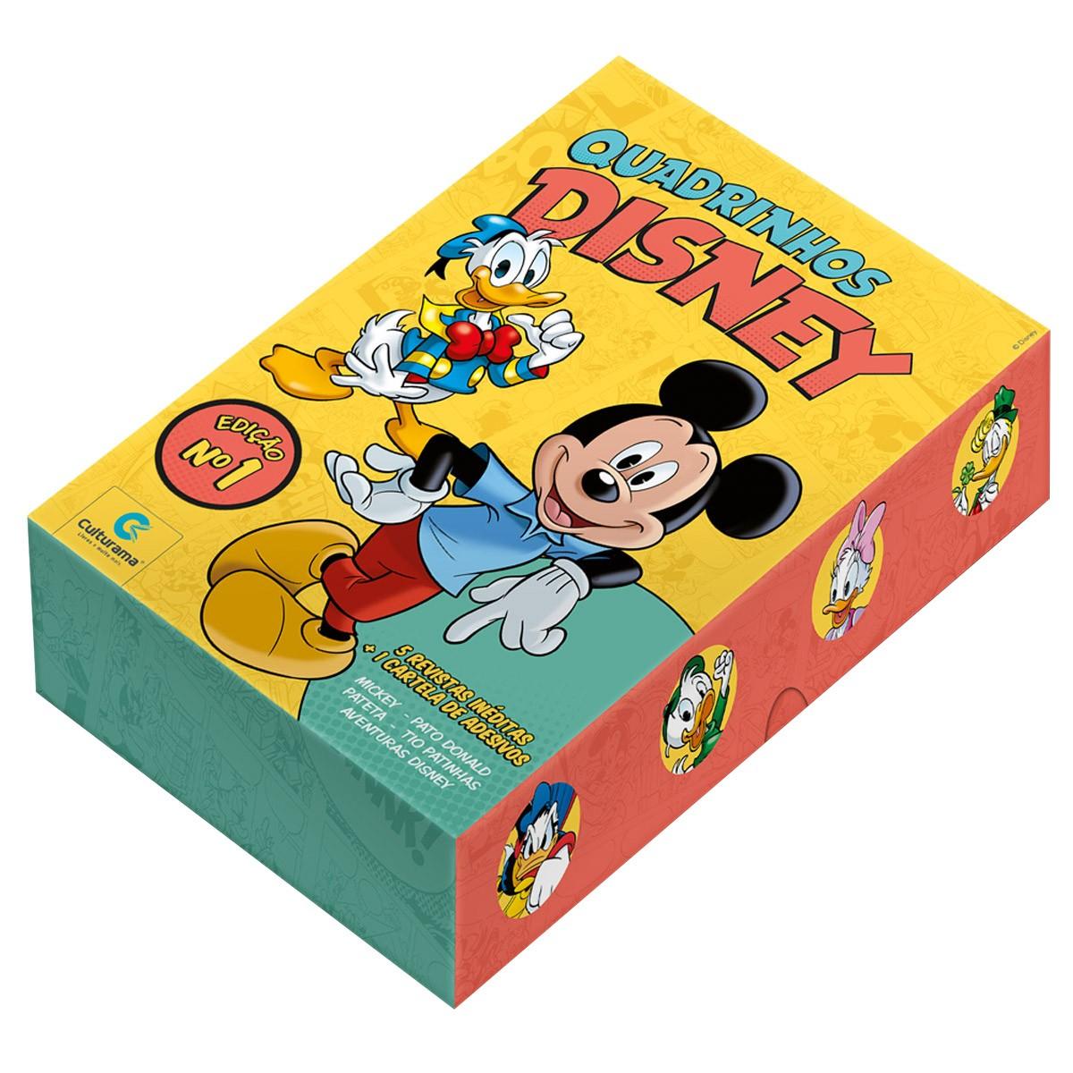 Box De Livros Hq Disney Edição 1