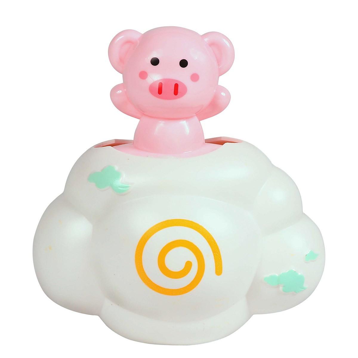 Brinquedo Amigos Do Banho Porquinho Rosa BabyGo Premium