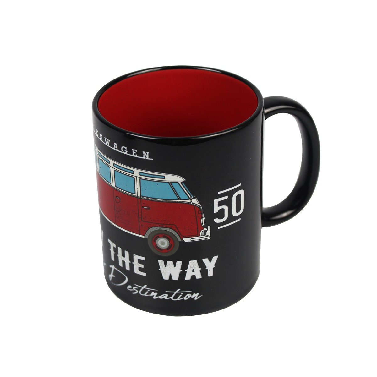 Caneca De Porcelana Kombi Enjoy The Way 320ml Urban