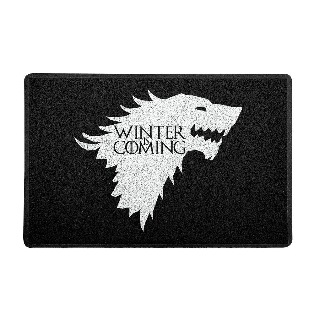 Capacho Geek e Nerd 60x40cm Winter is Coming - Beek